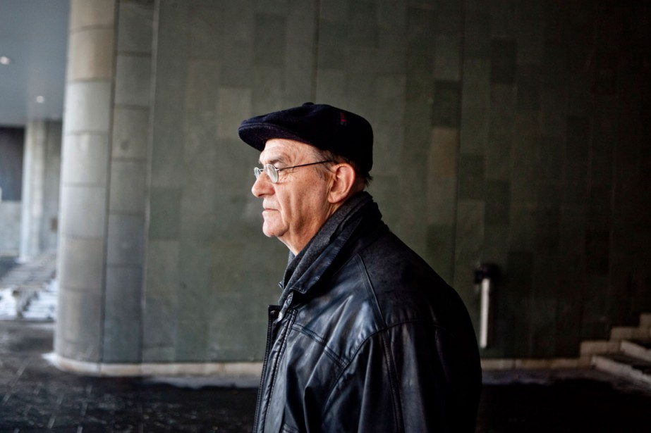 Le père rédemptoriste Jean-Claude Bergeron.... (PHOTO FOCUS 1/RENAUD PHILIPPE)