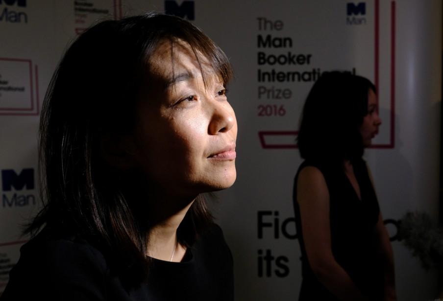 Han Kang, l'auteure deThe Vegetarian.... (Photo AP)