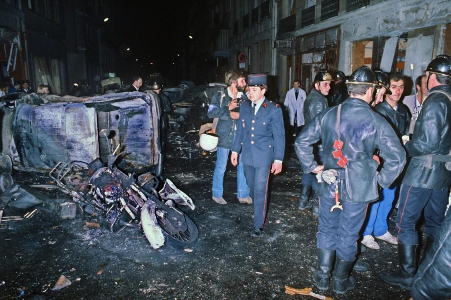 L'attentat de la rue Copernic a été perpétré... (PHOTO ARCHIVES AFP)