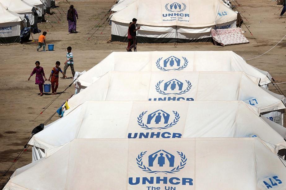 D'après l'ONU, quelque 60 millions de personnes sont... (PHOTO SAFIN HAMED, AFP)