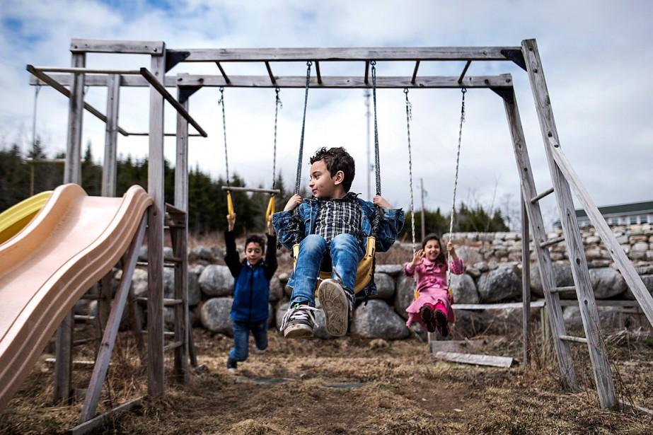 Ottawa avait accepté 27 000 réfugiés syriens en... (Photo Darren Calabrese, archives PC)