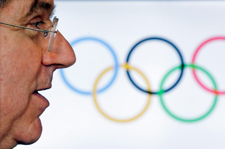 Thomas Bach,président du Comité international olympique, a dit... (Photo Morry Gash, archives Associated Press)