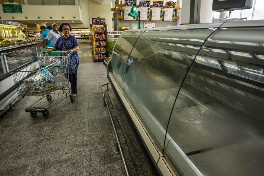La crise qui fait rage actuellement au Venezuela... (PHOTO MERIDITH KOHUT, THE NEW YORK TIMES)