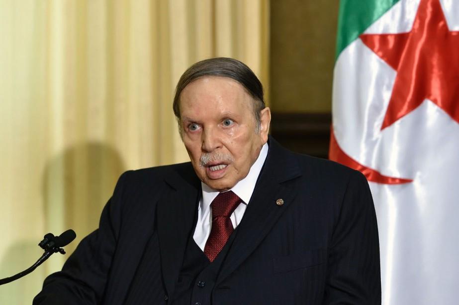 Abdelaziz Bouteflika... (PHOTO ERIC FEFERBERG, AFP)
