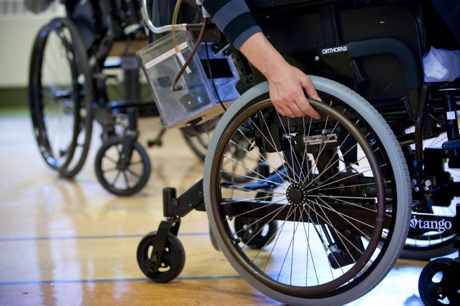 Les ressources financières pour personnes handicapées sont mal... (Photo David Boily, Archives La Presse)