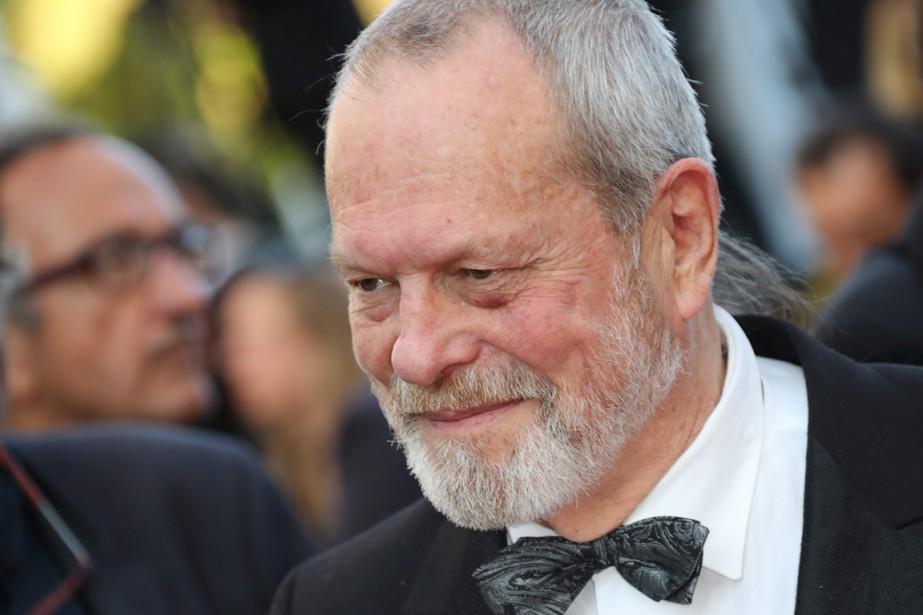 Terry Gilliam à Cannes, le 17 mai.... (Archives AFP)