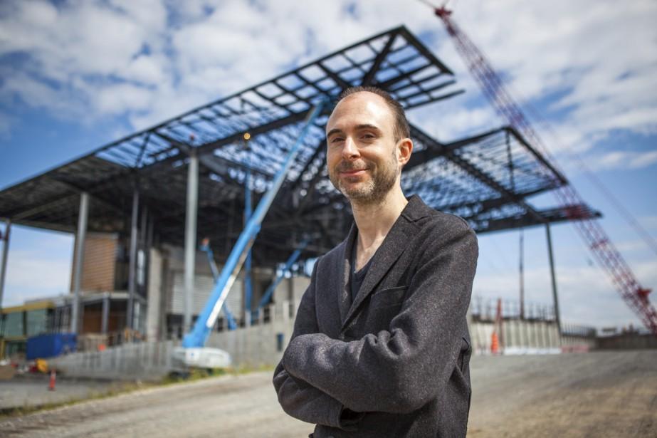 Paul Laurendeau, l'architecte de l'Amphithéâtre. (Olivier Croteau)