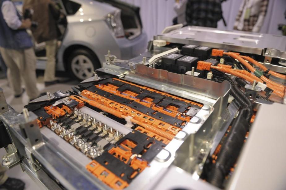 Le graphite est nécessaire à l'assemblage de batteries... (Photo AFP)