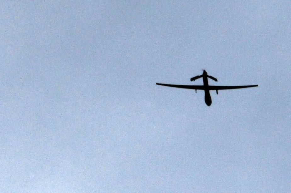 Un drone Predator utilisé par l'armée américaine.... (Photo archives AFP)