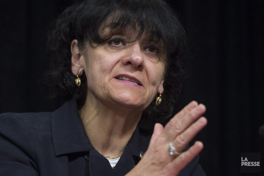 La ministre responsable de la Réforme des institutions... (Photo archives La Presse Canadienne)
