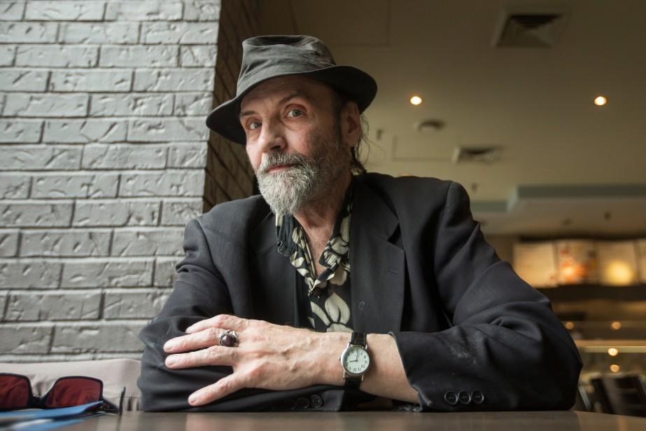 Paul Robert, artiste de rue, se souvient très... (Photo IVANOH DEMERS, LA PRESSE)