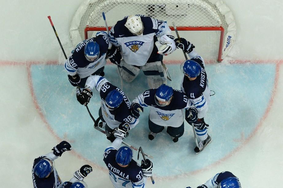 La Finlande rencontrera le vainqueur de Canada -... (PHOTO YURI KADOBNOV, AFP)