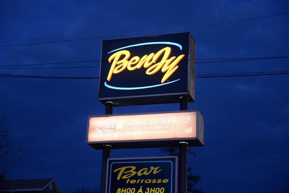 Le Benjy (Photo Le Progrès-dimanche, Jeannot Lévesque)
