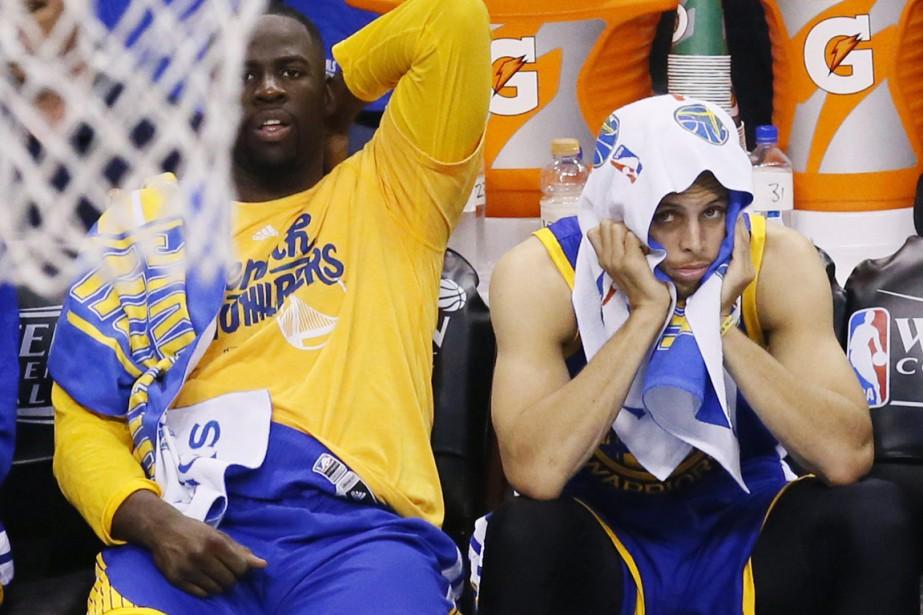 À la pause, les Warriors comptaient déjà 25... (Photo AP)