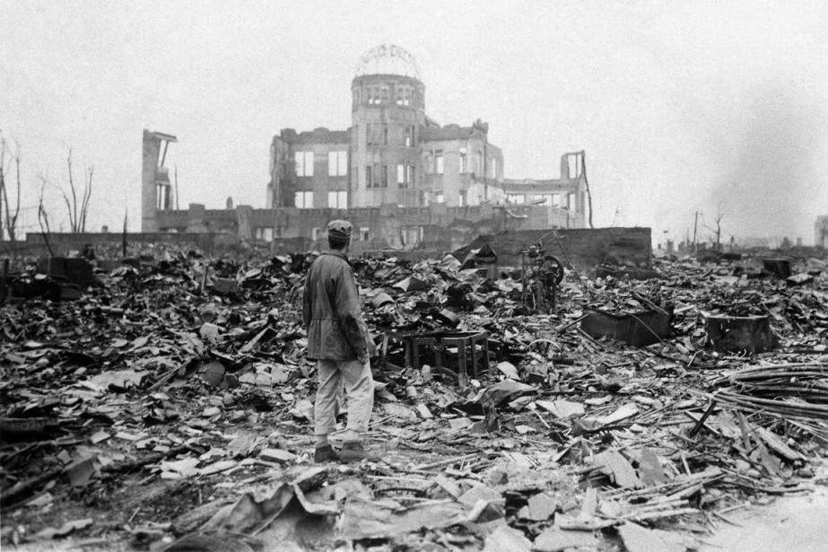 La ville d'Hiroshima, en septembre 1945, après l'explosion... (Photo archives AP)