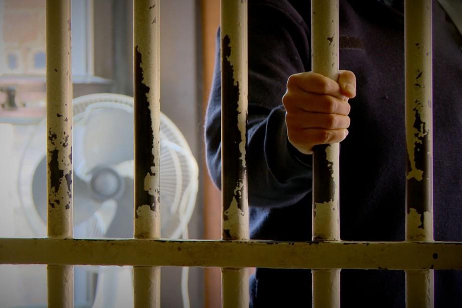 Le quart des détenus infectés par le VIH... (Archives La Presse)