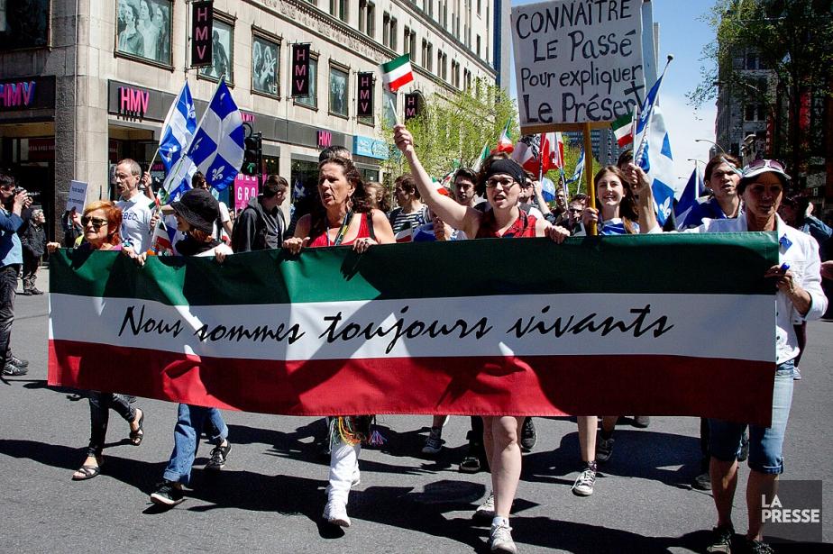 La Marche des Patriotes a rassemblé... (PHOTO SIRA CHAYER, ARCHIVES LA PRESSE)