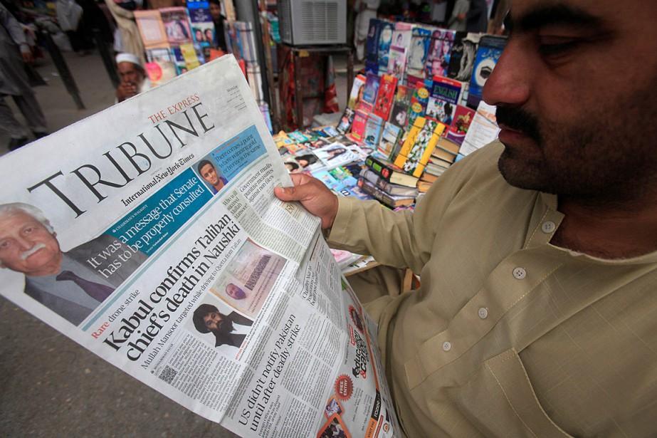 L'annonce de la mort du mollah Mansour a... (PHOTO REUTERS)