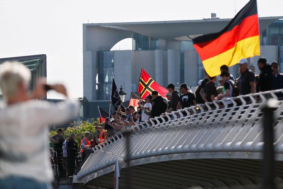 L'Allemagne a accueilli plus de 1,1 million de... (Photo Hannibal Hanschke, archives Reuters)