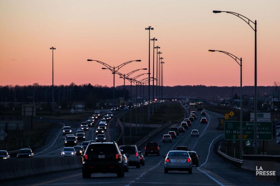 L'autoroute 20.... (Photo Hugo-Sébastien Aubert, archives La Presse)