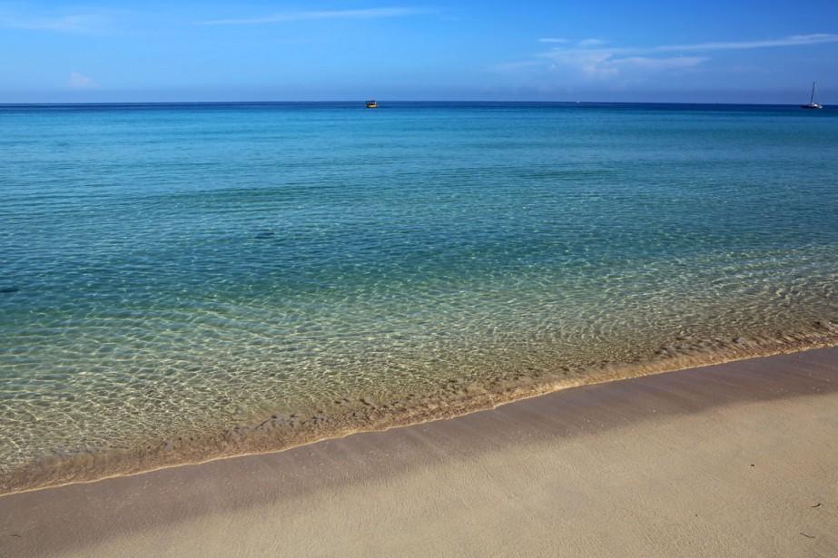 Une plage de Negril, en Jamaïque.... (PHOTO THINKSTOCK)
