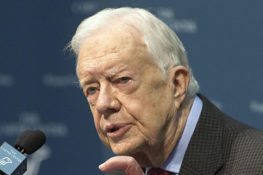 L'ancien président américain Jimmy Carter... (Archives AP)