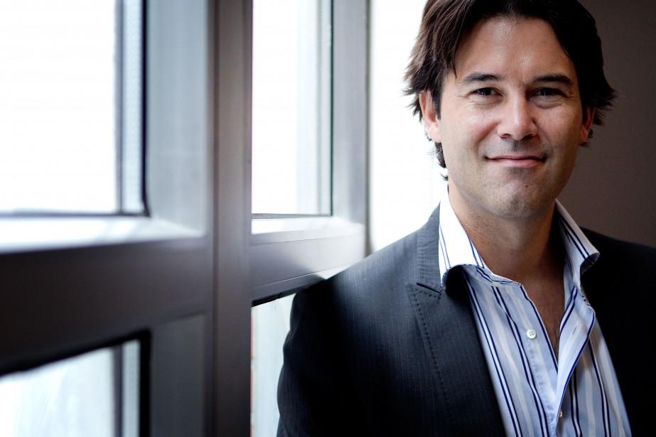 Pasacal Pilon est président de l'entreprise montréalaise LANDR,... (Photo Marco Campanozzi, La Presse)