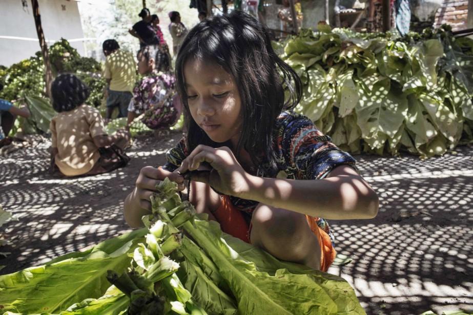 De nombreux jeunes travailleurs ont décrit à HRW... (PHOTO AFP/HUMAN RIGHTS WATCH)