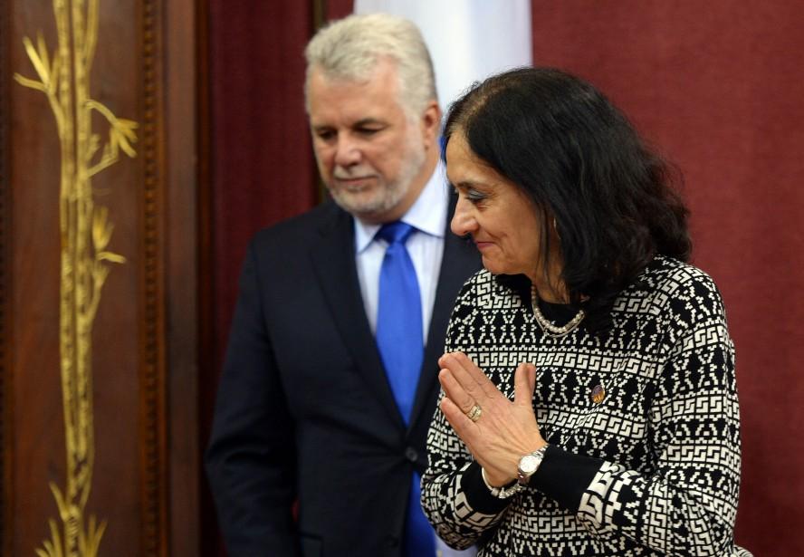 La ministre responsable de la Réforme des institutions... (Photo Erick Labbé, archives Le Soleil)