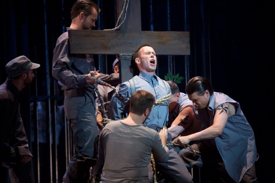 L'opéra de Kevin March Les feluettes, basé sur... (PHOTO OLIVIER JEAN, LA PRESSE)