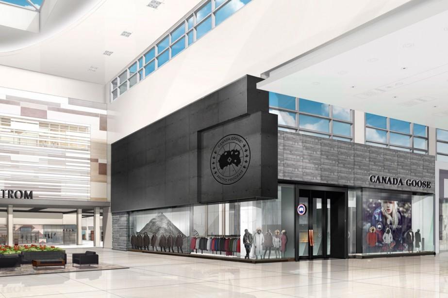 Canada Goose ouvrira deux magasins: un sera dans... (PHOTO PC)