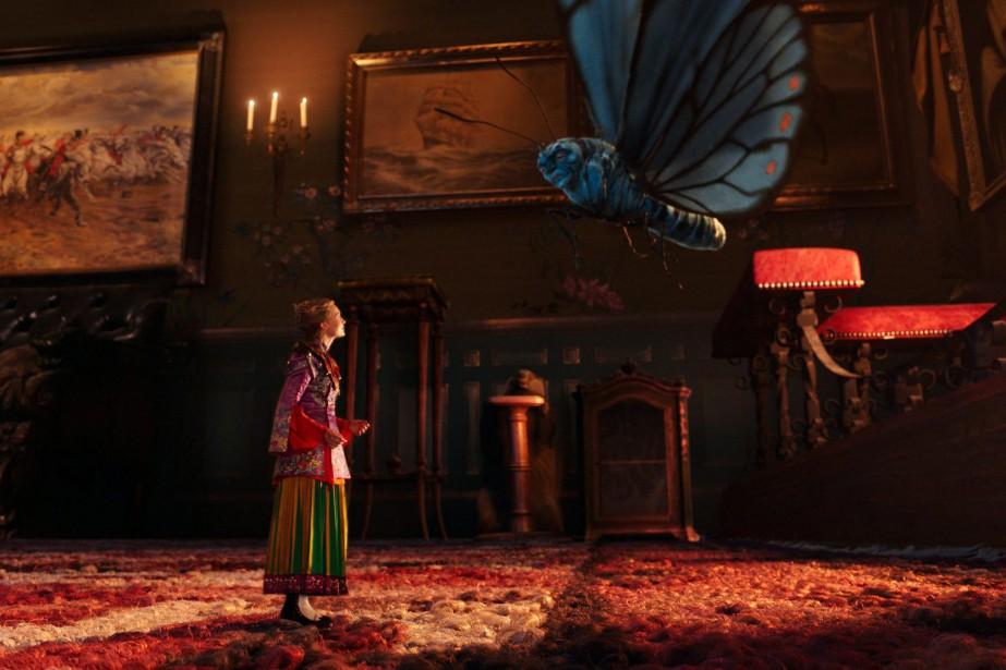 La suite des aventures d'Alice est décevante. Pas... (PHOTO DISNEY VIA AP)