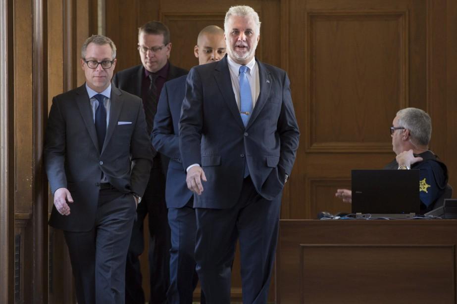 Le premier ministre du Québec et chef du... (Photo Jacques Boissinot, archives La Presse Canadienne)
