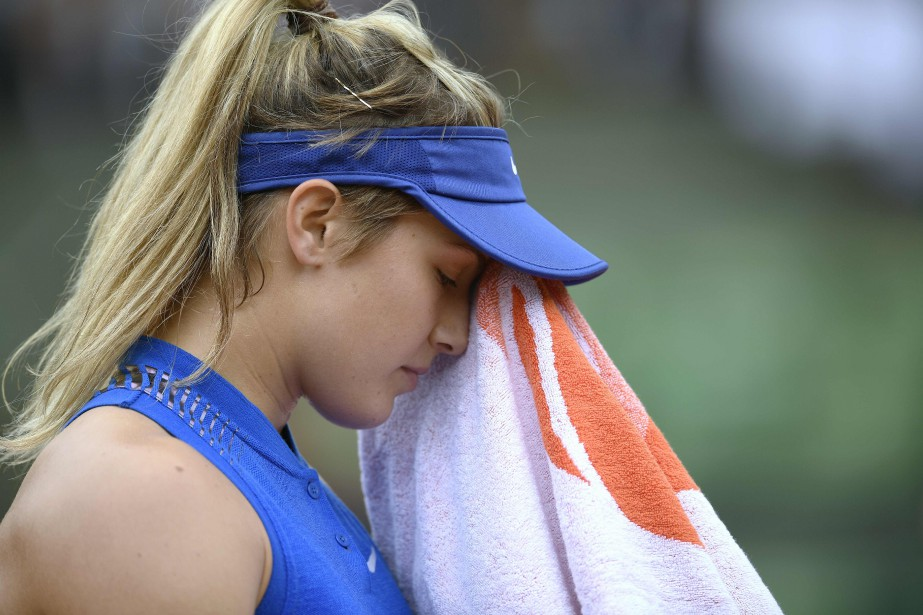 Eugenie Bouchard... (PHOTO MARTIN BUREAU, AFP)