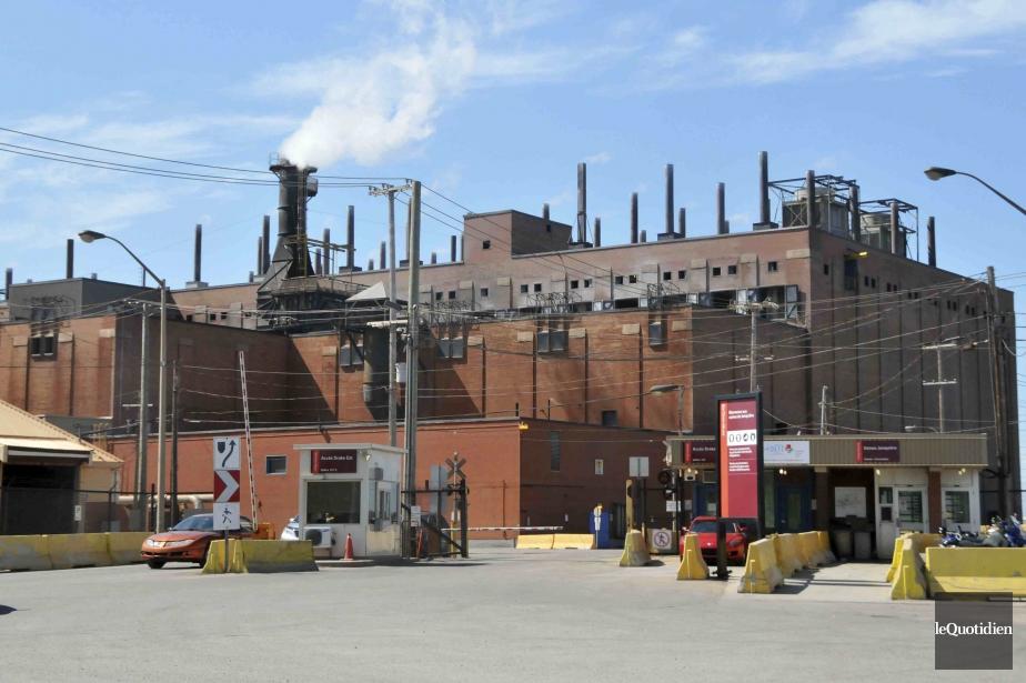 L'usine Vaudreuil, construite en 1936, soutient l'emploi de... (Photo Sylvain Dufour, Le Quotidien)