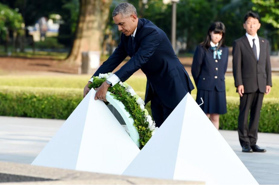 «Il y a 71ans, la mort est tombée... (PHOTO TOSHIFUMI KITAMURA, AFP)