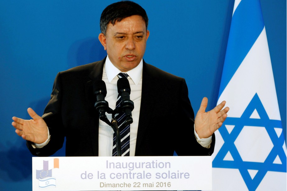 Le ministre israélien de l'Environnement Avi Gabbay.... (PHOTO BAZ RATNER, ARCHIVES REUTERS)