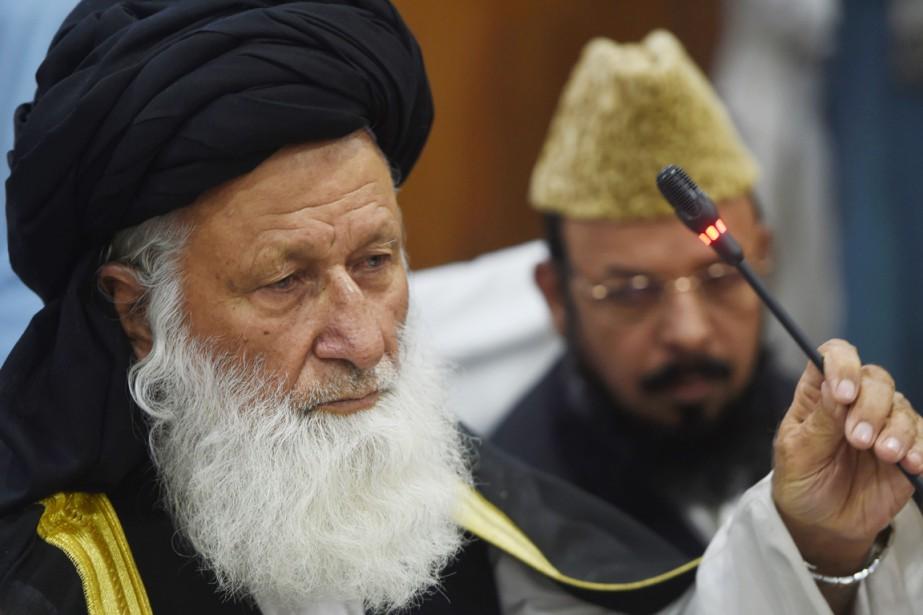 Le président du Conseil de l'Idéologie islamique (CII)Maulana... (PHOTO FAROOQ NAEEM, AFP)