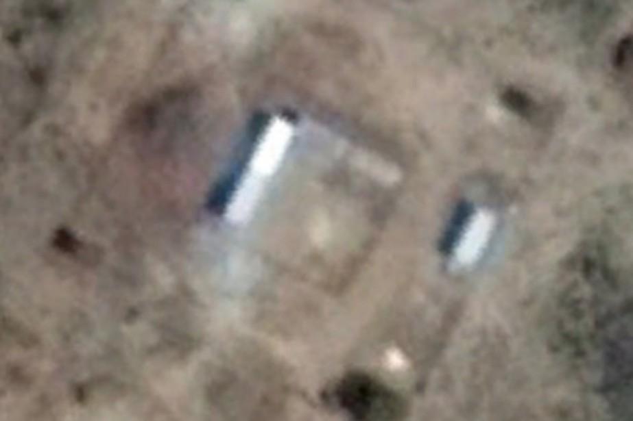 Sur les images satellites publiées par l'ONG, on... (IMAGE GOOGLE EARTH)