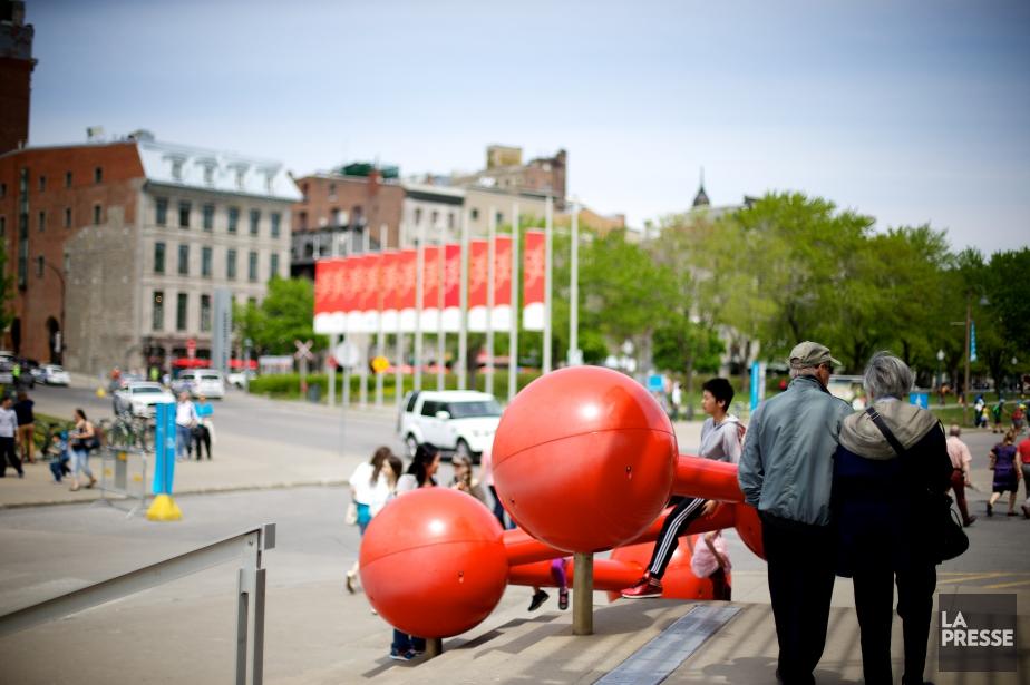 Le Vieux-Port de Montréal... (PHOTO SARAH MONGEAU-BIRKETT, LA PRESSE)