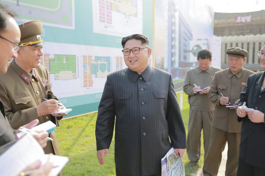 Kim Jong-Un est né en 1984, ce qui... (PHOTO ARCHIVES KCNA)