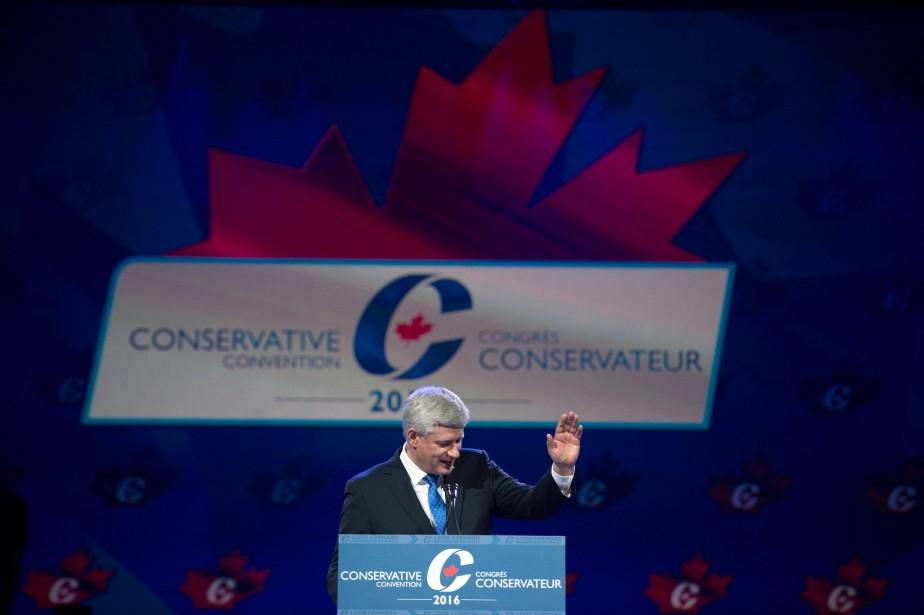 Après avoir quitté son poste, le 19 octobre... (PhotoJonathan Hayward, archives La Presse Canadienne)
