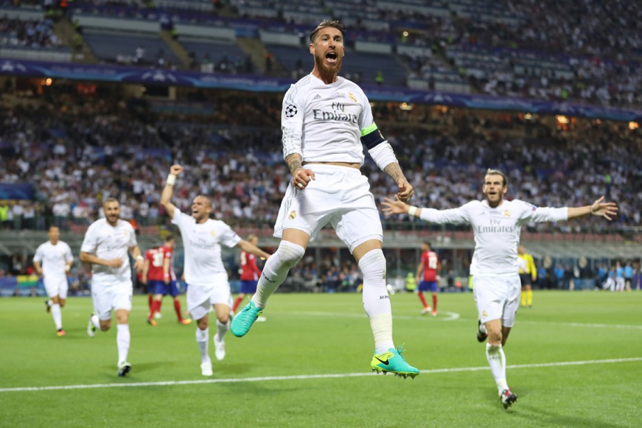 Sergio Ramos a joué un rôle important dans... (Photo Reuters)