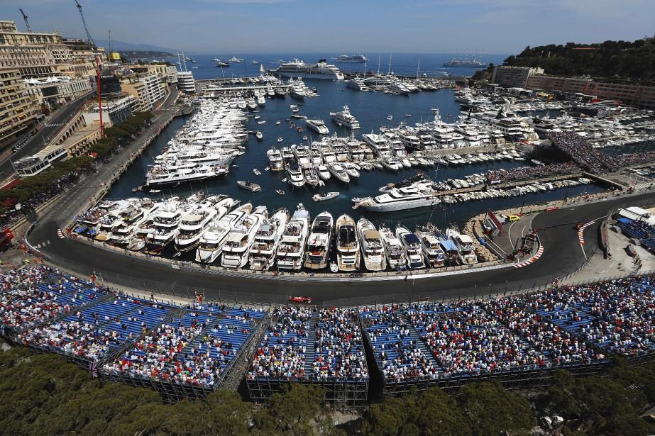 Une vue de Monaco lors du tour de qualification de Kimi Raikkonen (Ferrari) (AFP, Valery HACHE)