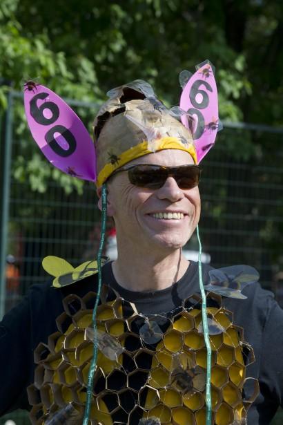 Un «lapin de course», un personnage toujours haut en couleurs. (Martin Roy, LeDroit)