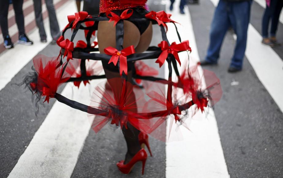 Ce projet de 2013 oblige, entre autres, les services de santé à prendre en charge les opérations de changement de sexe. (AFP, Miguel Schincariol)