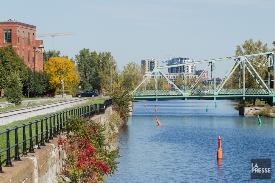 Le canal Lachine.... (Photo archives La Presse)