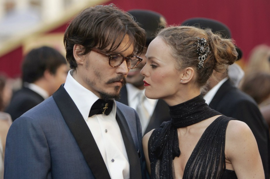 Johnny Depp a partagé sa vie avec Vanessa... (Photo archives AP)