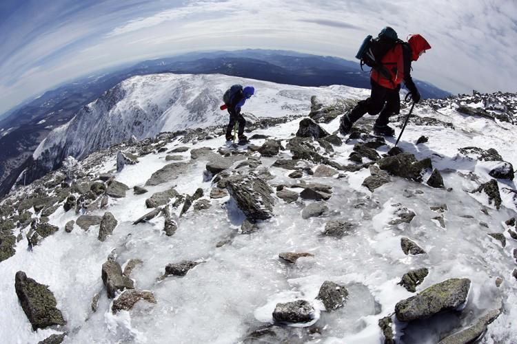 Le mont Washington est le point culminant du... (PHOTO ARCHIVES ASSOCIATED PRESS)