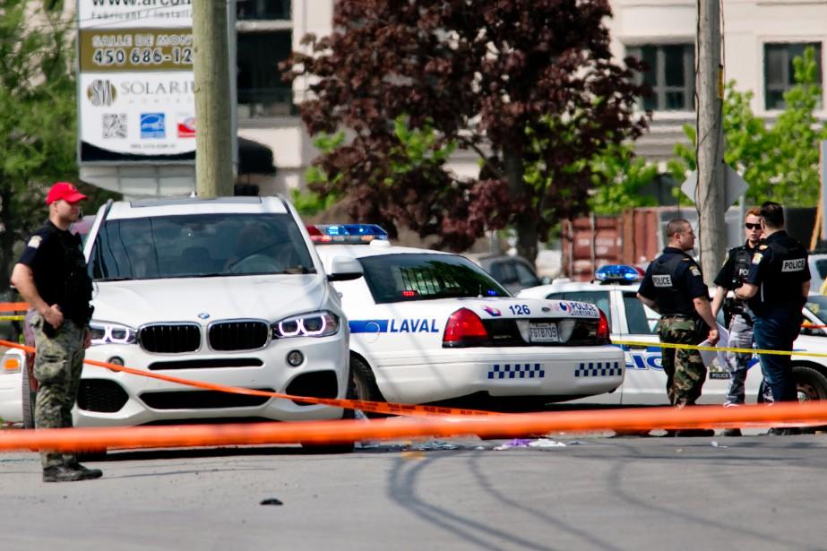 L'assassinat vendredi à Laval de Rocco Sollecito, dernier... (PHOTO DAVID BOILY, LA PRESSE)